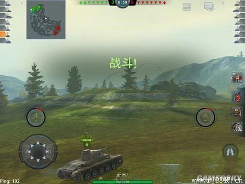 《坦克世界:闪电战》:一款模拟驾驶与对战融合的手游