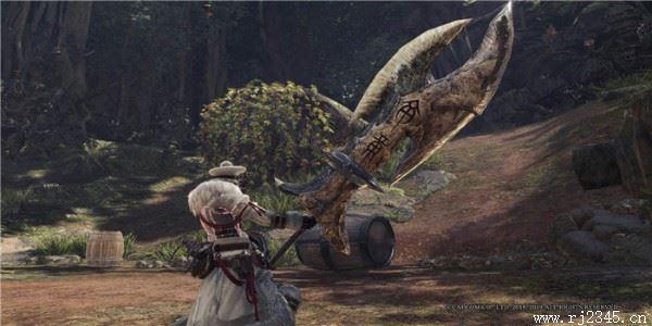 怪物猎人世界冰原符文巨剑MOD 免费版